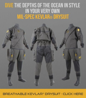 Northern Diver MIL-SPEC Kevlar Drysuit