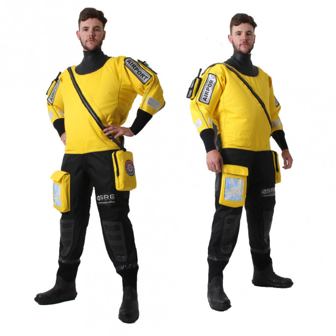 Isle of Man Rescue & Responder Suit - side views