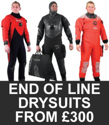 Northern Diver End of Line Drysuits
