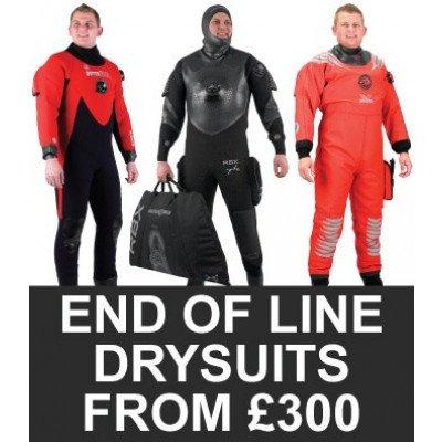 Northern Diver End of Line Drysuits