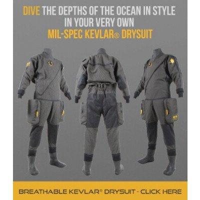 Northern Diver MIL-SPEC Kevlar Drysuit