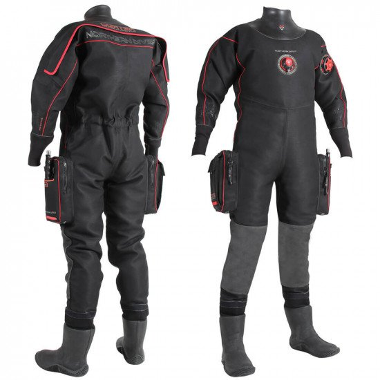 Cortex Red Edition | Tri-Laminate Drysuit for Diving | Northern Diver International