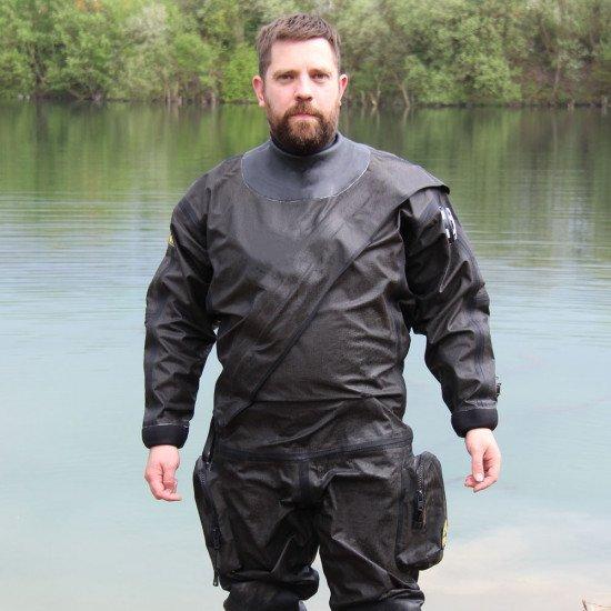 MIL-SPEC Breathable Kevlar® Drysuit | Drysuit for Diving | Northern Diver International