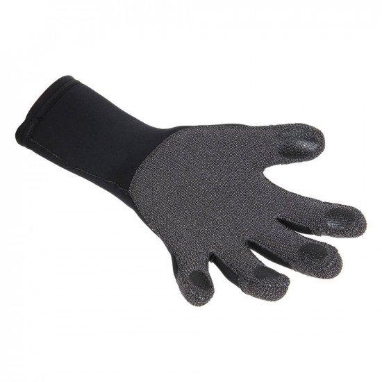 Kevlar Superstretch Gloves - glass fibre finger pads