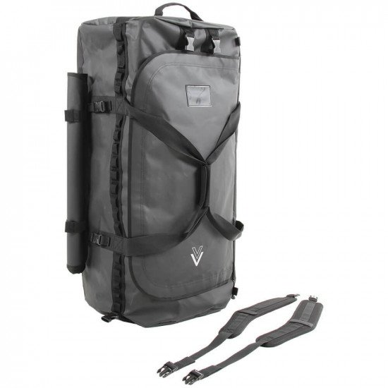 160L NDB5 Black Holdall and carrying strap
