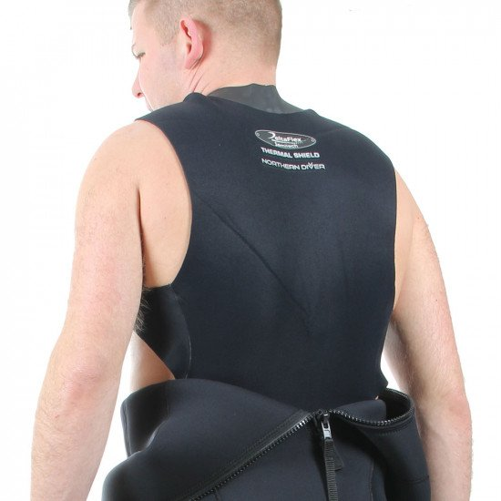 The Semi Tech wetsuit has a built in thermal vest to keep you extra warm