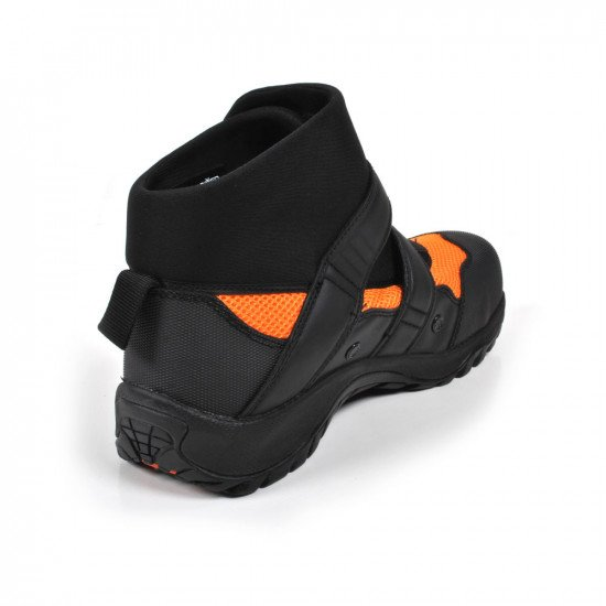 Water rescue boots back view