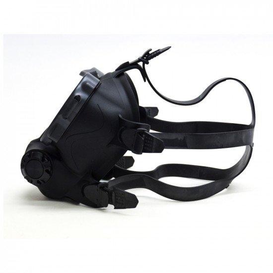 OTS black skirted, Spectrum FFM - straps right side view