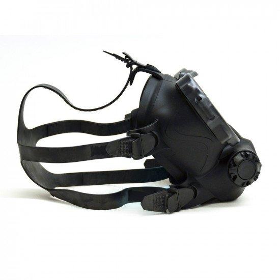 OTS black skirted, Spectrum FFM - straps left side view