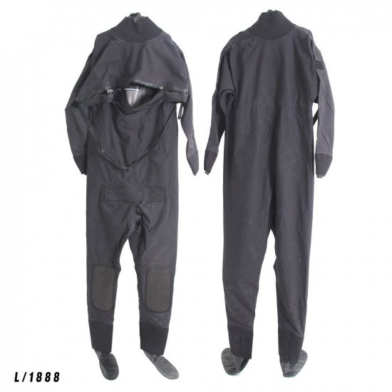 Size Large black surface watersports suit - Z1888