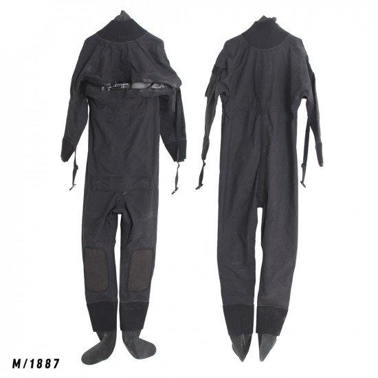 Size M black surface watersports suit - Z1887