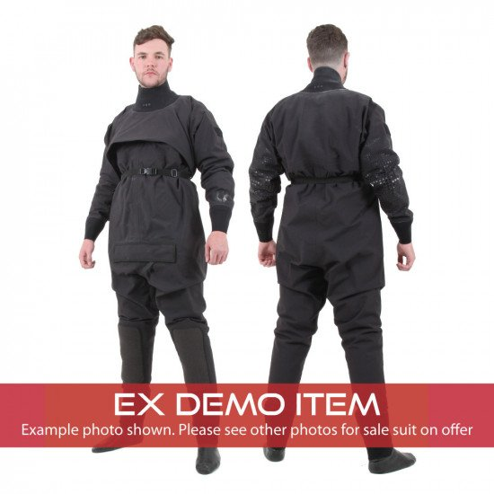 Lightweight surface suits front and back views