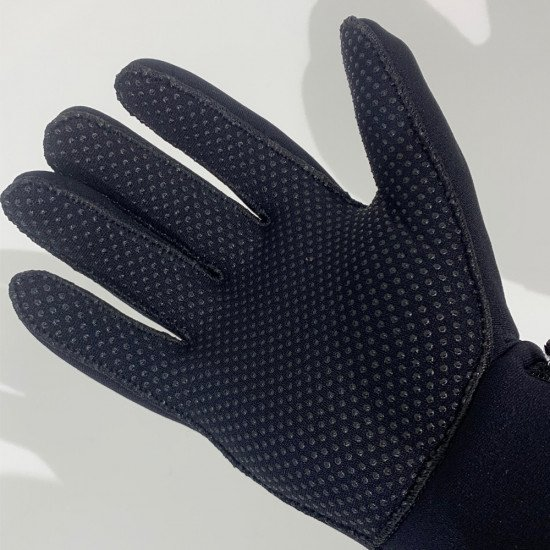 3mm Neoprene Gloves - palm of glove