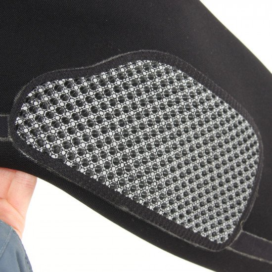 Additional elbow, shoulder and knee protection ensures the suit will withstand years of action.
