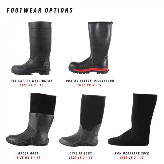 pro-wade-wader-footwear-options