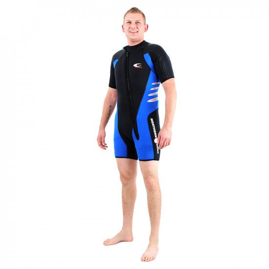 5.5/6.5mm Semi Tech Delta Flex Style Semi Dry Wetsuit | Northern Diver | Snorkelling and Diving Wets