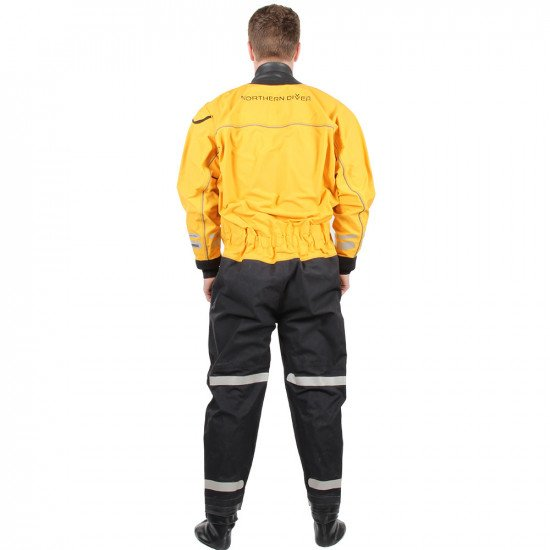 SF4 320D FE Yellow Heavyweight Surface Suit | Surface Suits for Sale | Northern Diver International