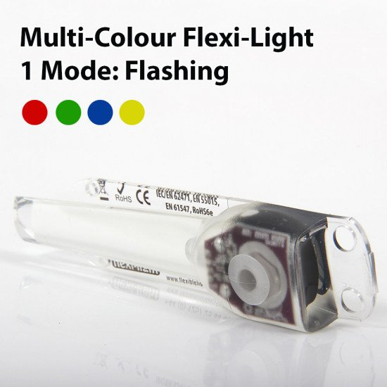 Multi-colour flexible light sticks