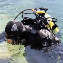Faber steel cylinder are supplied by Northern Diver and industry recognised as a lightweight, tough and high quality product for underwater diving.