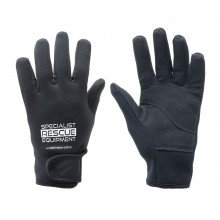 2mm black SRE rescue rope gloves