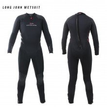 Front and back view of the Delta Flex Semi-Tech Long John wetsuit