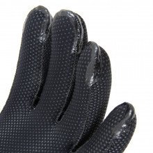 Liquid taped fingertips for added protection on the arctic survivor glove
