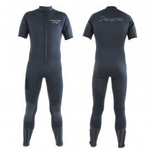 Farmer long john wetsuit with short arms and long legs