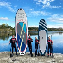 Travel paddle board