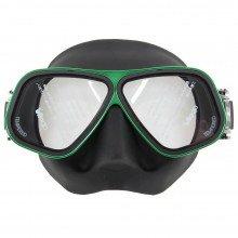 Bio Metal Green Mask | Northern Diver UK | Snorkelling and Diving Mask