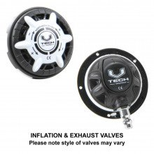 Divemaster Commercial inflation and exhaust valves, styles may vary