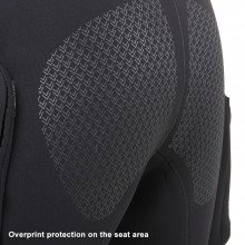Divemaster Commercial overprint protection on the seat area