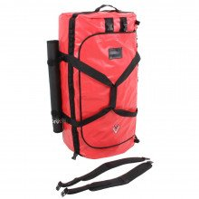 160L NDB5 Red Holdall and carrying strap