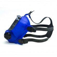OTS blue skirted, Spectrum FFM - straps right side view