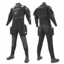 The Divemaster Commercial drysuit is the first choice of active sport divers and the UK's major comm
