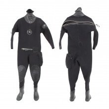 The drysuit is completely Non-Magnetic and used against ordinance for search and detonation tasks