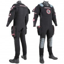The Divemaster Sport drysuit is the first choice of active sport divers and the UK's major commercia