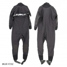 Size MLR black surface watersports suit - Z1722