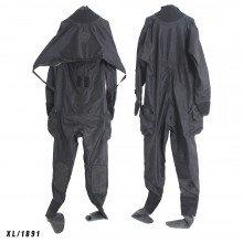 Size XL black surface watersports suit - Z1891