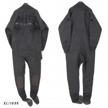 Size XL black surface watersports suit - Z1699