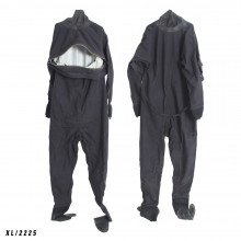 Size XL black surface watersports suit - Z2225