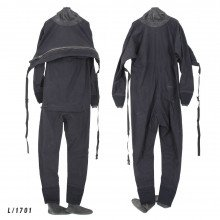 Size Large black surface watersports suit - Z1701