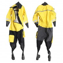 Easy to don rescue suit, ideal for fast rescue and response swimming applications.