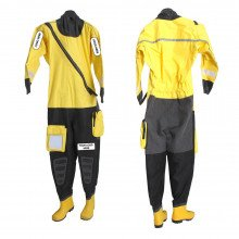 Easy to don rescue suit, ideal for fast rescue and response swimming applications
