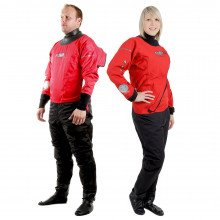 SF4 210D RE and FE Lightweight Surface Suit Front Views side by side