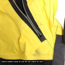 The suit is fitted with a  front entry BDM metal zip makes for easy access