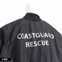 Thermalux undersuit with coastguard rescue branding on the back