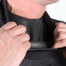 Tri-Laminate Diving Drysuit - latex neck with neoprene warmer