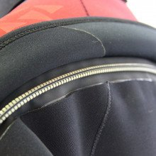 The suit also features a medium duty high specification metal dry zip