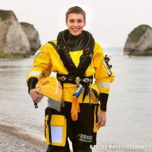 Freshwater Lifeboats uses the Rescue and response surface suit for its female team members