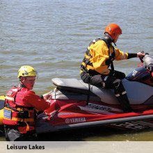 SF4 watersports suits in action at Leisure Lakes